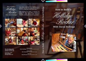 Build a Hollidge Rocker DVD boxed set cover