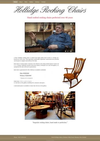 Hollidge Rocking Chairs home page