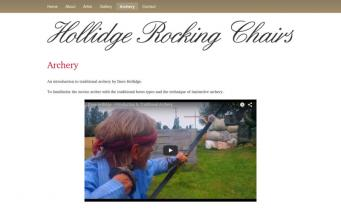 Hollidge Rocking Chairs archery page
