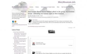 Misty Mountain home page