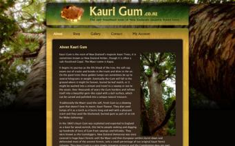 Kaurigum home page