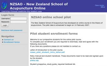 NZSAO home page