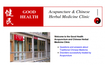 Good Health Acupcunture home page