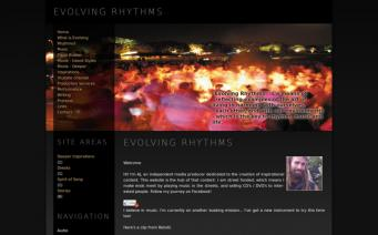 Evolving Rhythms home page