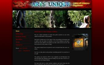 Arts Unique home page