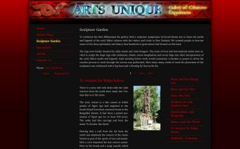 Arts Unique sculpture garden page