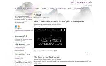 Misty Mountain video page